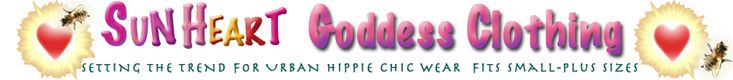 Fabulous clothes for goddesses, gypsies and women of ALL sizes!