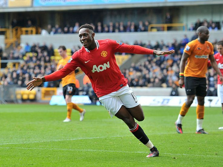 Danny Welbeck - Centre forward/winger at Manchester United and the english national football team