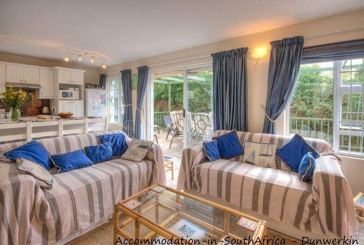 Spacious accommodation. Beautiful lounge. Dunwerkin Accommodation.