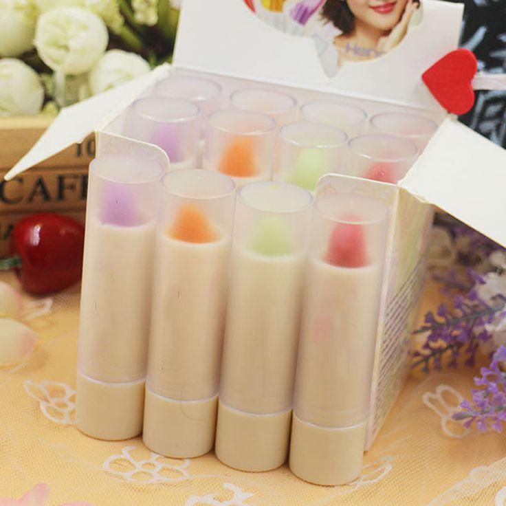 Nieuwe Magic Waterdicht Verandering Kleur Rode Lippenstift Langdurige Moisturing Lippenbalsem
