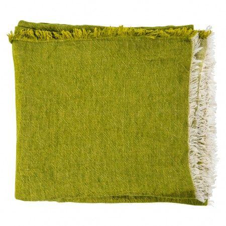 Absinthe Vice Versa Linen Throw