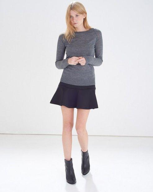 Black Global Scuba Skirt #ARWishlist