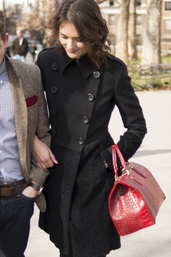 Love her red doctor bag!