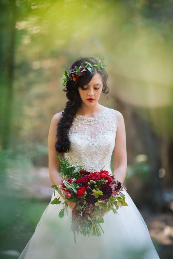 Best 25 snow white wedding dress ideas on pinterest princess forest wedding ideas ombrellifo Image collections