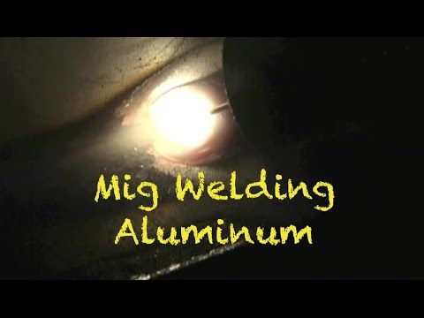 Mig Welding Aluminum with a Spool Gun