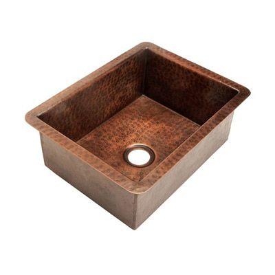 Belle Foret Copper Bar Sink
