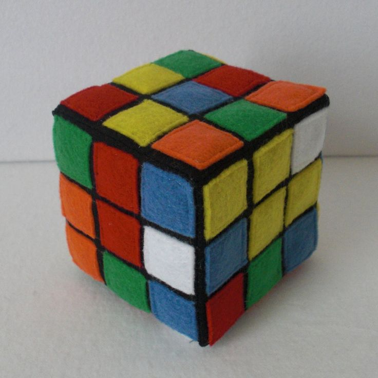 Plush Rubik's Cubes -- TUTORIAL...