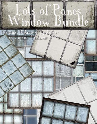 [D] Lots of  Pane Window Bundle - Boxed