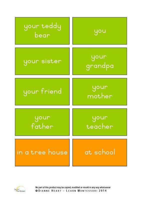 Montessori Curriculum  Language: Creative by LearnMontessori