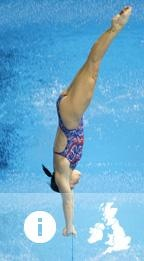 China: Diving - Chen Ruolin is a Chinese diver, who won the gold medals in women's 10m platform and 10m synchronized platform at the 2008 Summer Olympics in Beijing for Team China when she was only 15 years old. She is the heavy favorite in both of those events this year as well.