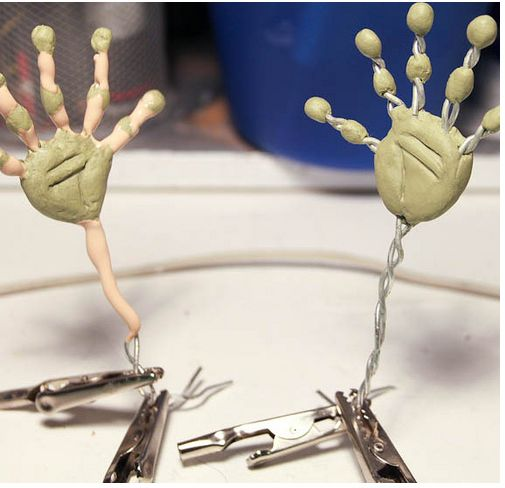 ★ How to Make Puppets for Stop-Motion Animation | Jointed Limbs and Clay Art Doll Figures ★