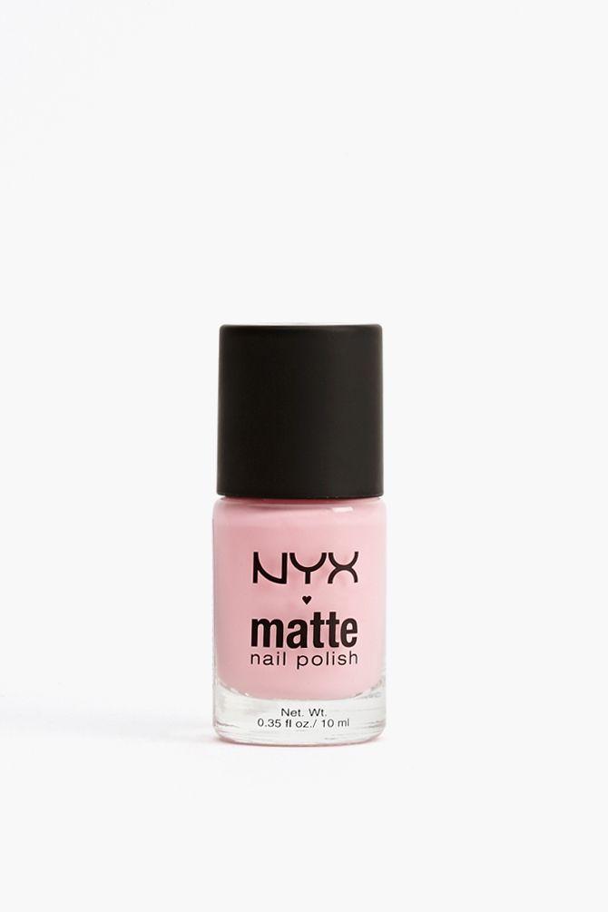 NYX Matte Polish in Pastel Pink