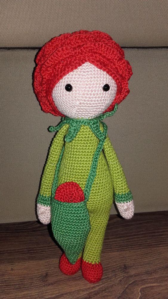 Zabbez Crochet Patterns : Rose Roxy flower doll made by Monika H - crochet pattern by Zabbez