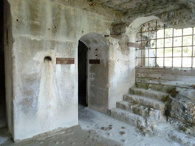 Italië, Lavarone, Forte Belvédère Gschwent