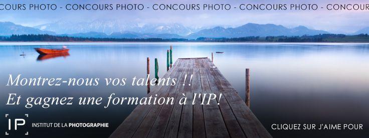 Nous organisons un concours photo sur notre Page Facebook du 7 au 18 octobre ! Montrez-nous vos talents et gagnez une formation gratuite à l'IP!!! Pour participer c'est par ici : https://www.facebook.com/institutdelaphotographie/app_477948252227620  #concoursphoto #conours #montreznousvostalents #institutdelaphotographie #ip #formation photo #photo #formationenligne