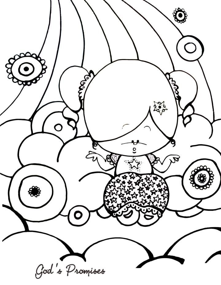 God S Promises Coloring Page Bible Coloring Pages
