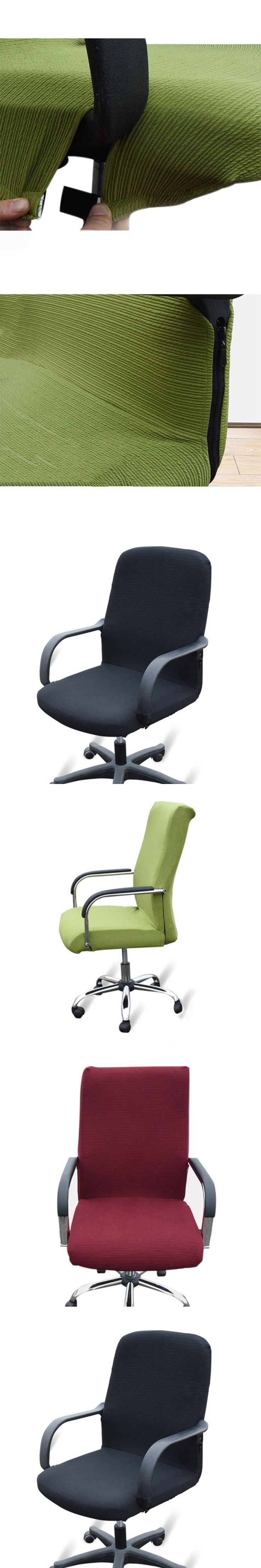 Hot Sale Computer Office Chair Cover Side Zipper Arm Chair Cover Slipcover Stretch Rotating Lift Chair Covers