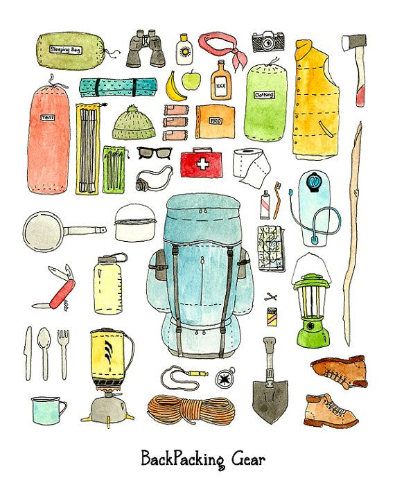 backpacking gear - Google Search