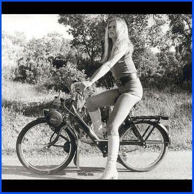Magic Mac: Velo Solex: Brigitte Bardot