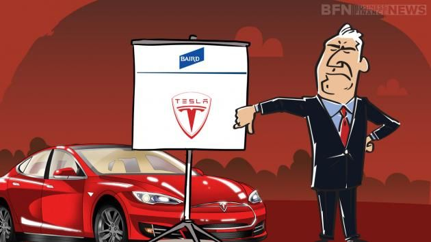 Analyst at Baird has downgraded Tesla Motors Inc.'s (NASDAQ:TSLA) shares to neutral and lowered the price target to $282.