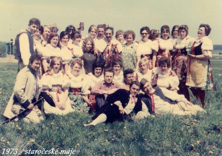 rok 1973 staročeské máje