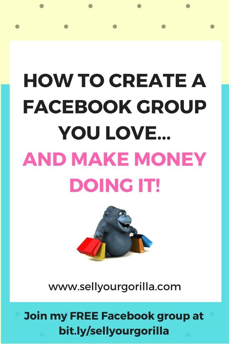 Have you been thinking of starting a Facebook group....but you're not sure it's right for you?   OR  Do you already have a group and it's not quite what you thought it would be?  #sellyourgorilla  #facebookgroups    Either way....www.sellyourgorilla.com can help!  Join my FREE Facebook group at