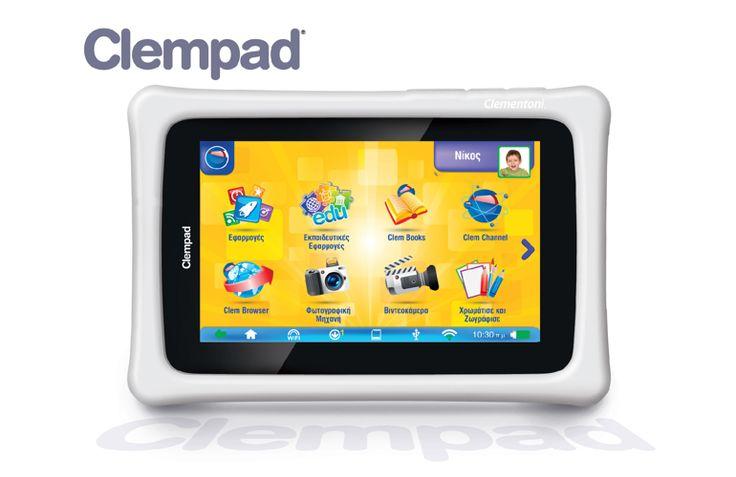 Tablet Clempad της Clementoni  130 Eυρώ. Κατάλληλο και για… γονείς!