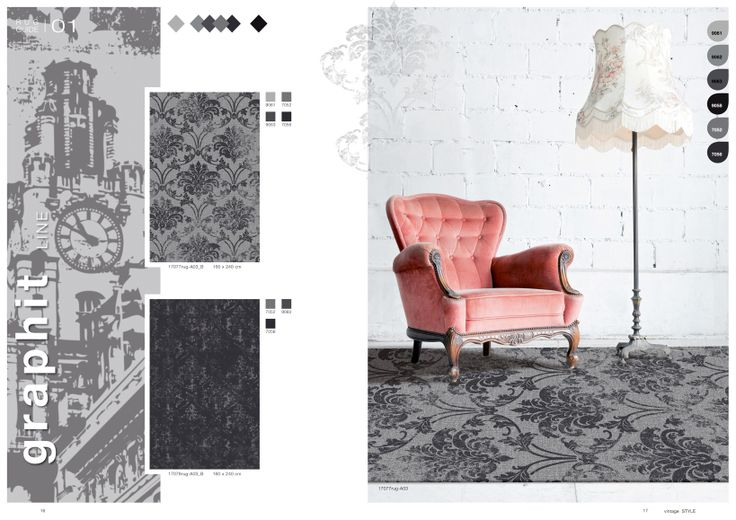 brochure design for carpet manufacturer HALBMOND Teppichwerke