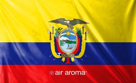 Welcome Air Aroma Ecuador!