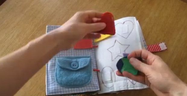 Such a good idea for a sensory book for the little ones. Easy to make too specially if you have the time to do it.