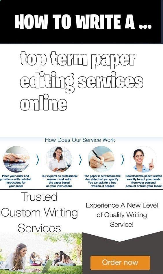 Top term paper editing services online Write beginning teacher