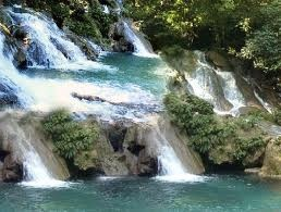 Waterfall in Puerto Barrios, Guatemala