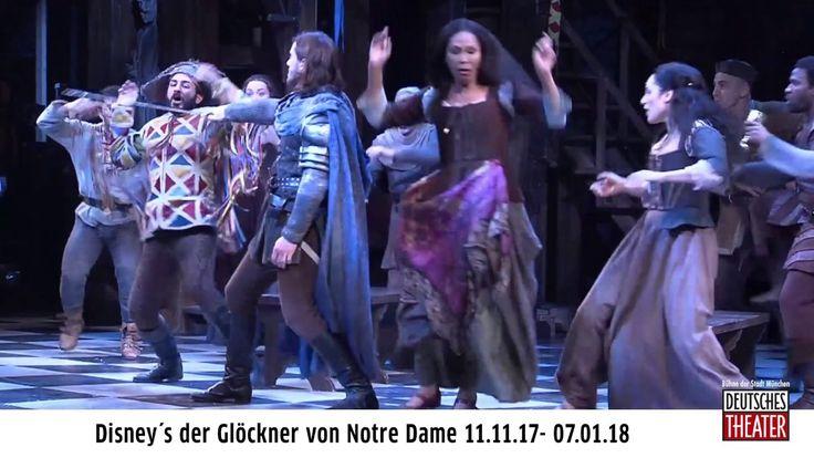 Disneys der Glöckner von Notre Dame als Tourproduktion  Besondere München-Premiere Eine Geschichte die berührt. Ein Musical das begeistert. Das Deutsche Theater präsentiert 2017 mit DISNEYS DER GLÖCKNER VON NOTRE DAME eine ganz besondere München-Premiere. Basierend auf dem Roman-Klassiker von Victor Hugo sowie dem wunderbaren Zeichentrickfilm von Disney und seiner grandiosen Musical-Melodien ist die Geschichte um den berühmten Glöckner Quasimodo nach der Europapremiere im Stage Theater des…