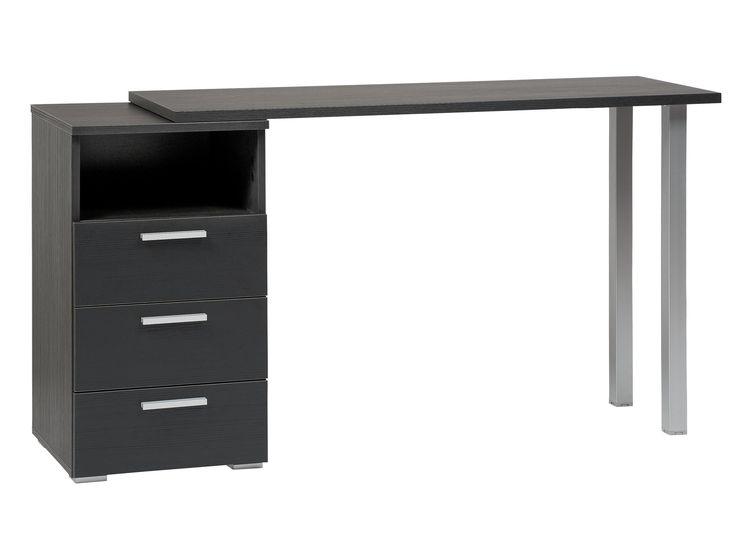 BLACK Skrivbord med hurts 115 Svart i gruppen Inomhus / Kontor hos Furniturebox (100-30-80487r)
