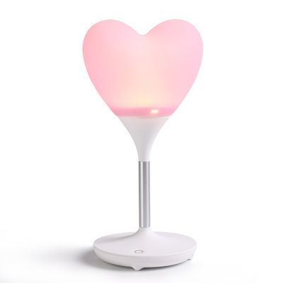"""Robot Heart Lamp in Pink - K-drama addicts unite!!!   Inspired by the popular Korean drama that has been top of our list of must-watch K-dramas, """"I'm *** * Robot"""", we have brought in this cute heart LED lamp that has been featured in most of the scenes!"""