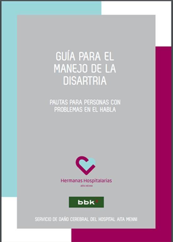 Hoy Miércoles, os queremos dejar una nueva guía para el Manejo de la DISARTRIA, que ha elaborado el Servicio de Daño Cerebral del Hospital Aita Menni con la colaboración de BBK. En esta guía, se of…