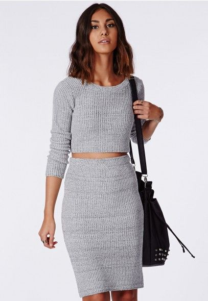 Well, I have the top in white, so it's only fair I get it in grey too, right? #MissguidedAW14
