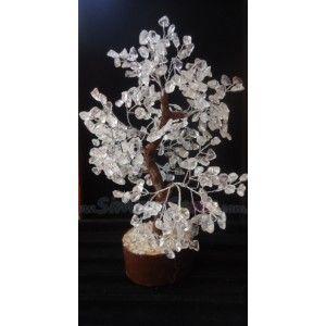 Clear Qtz Tree Large-020