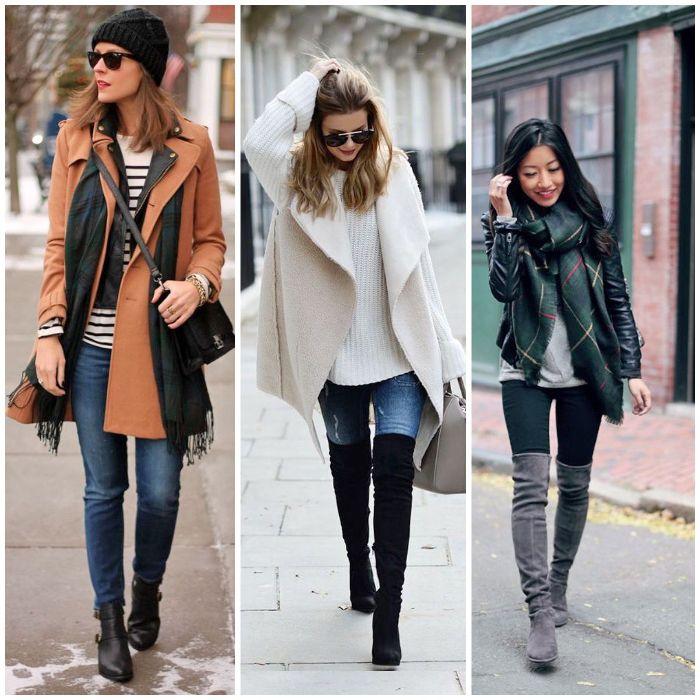 winter outfit damen