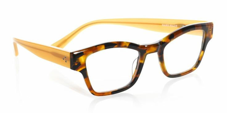 eyebobs Jail Bait reading glasses draw attention upward, making them a great choice for a heart-shaped face.