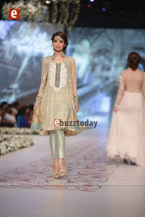 Asifa Nabeel - PBCW 2014 - Pakistani Fashion