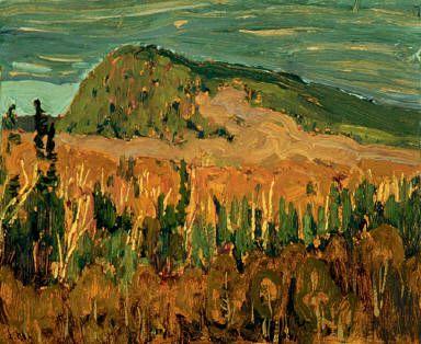 J.E.H. MacDonald Autumn Bush, Algoma c. 1919-1920