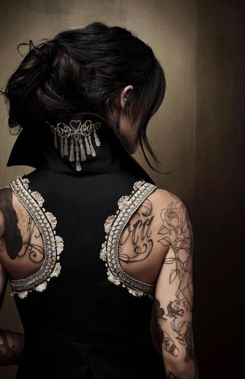 This is just beautiful! #katvond #tattoos #art