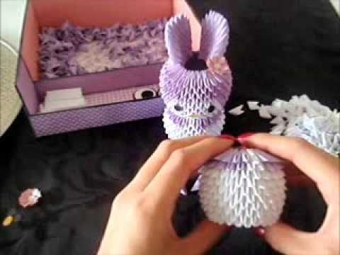 3d Origami Melody Tutorial Part 1