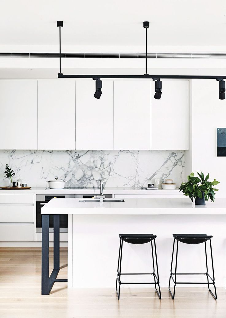 the things all designers do to make their home a happier place white kitchen - White Kitchen Ideas