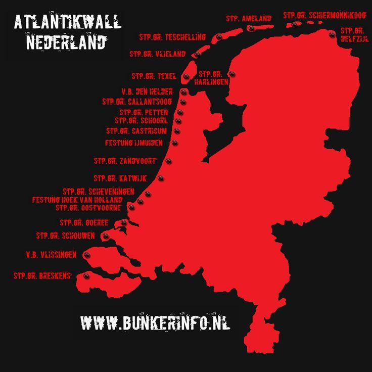BUNKERINFO - Bunkers, Info, Foto's, Locaties en Meer!!!: Troepen Atlantikwall Nederland