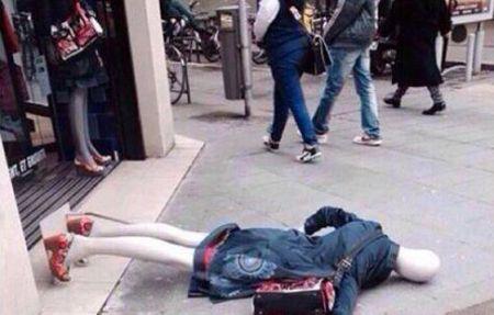 Le suicide d'un mannequin chez Desigual...