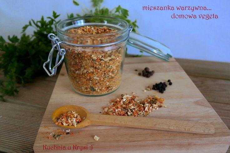 Kuchnia u Krysi  : Mieszanka warzywna... domowa vegeta