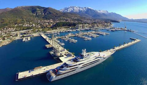 Porto Montenegro nominato per il TYHA Superyacht Marina of the year award 2017