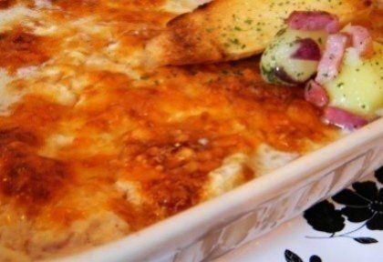 Tejszínes fehérborban sült hagymás-sajtos csirkemell | NOSALTY – receptek képekkel